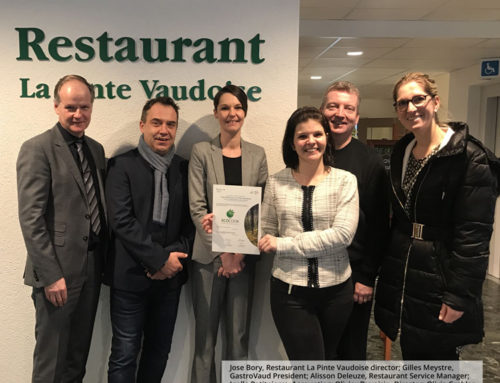 La Pinte Vaudoise: Certified EcoCook Sustainable Restaurant