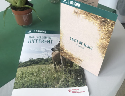 Our experience at the «Origine Event » : the presentation of the sustainable Prodega/Growa/Transgourmet brand