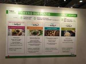 Sirha Green 2018_tablegreen_offre de restauration