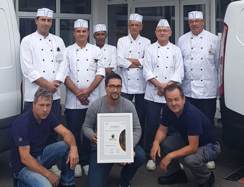 Beau-Site Foundation's production kitchen, Bonnettes, is certified EcoCook Sustainable Restaurant Level 3